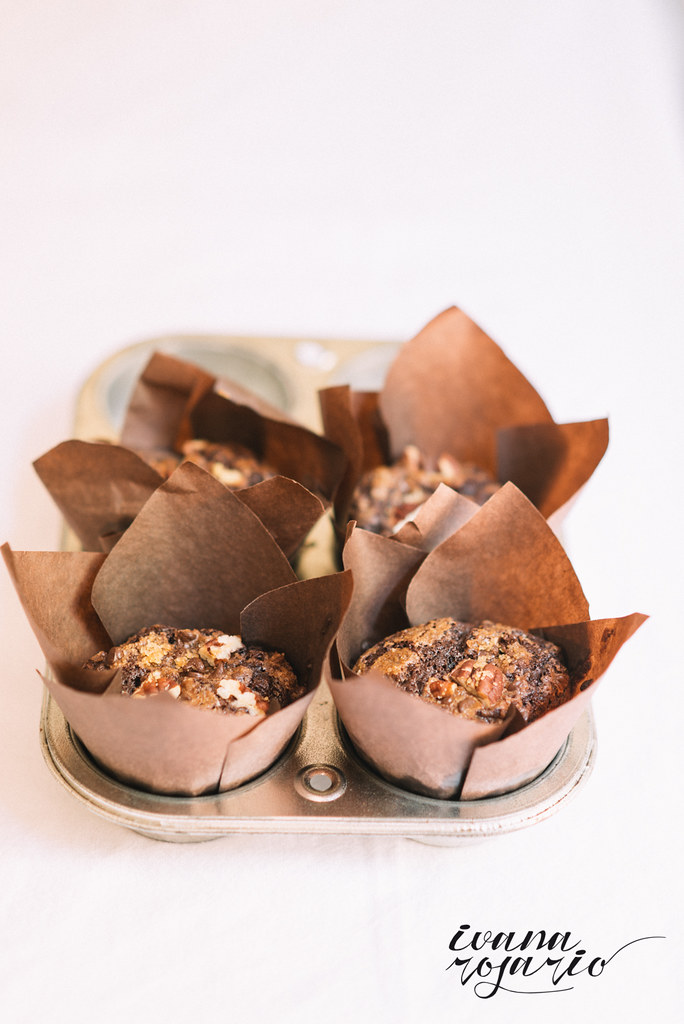 Muffins · Magdalenas chocolate