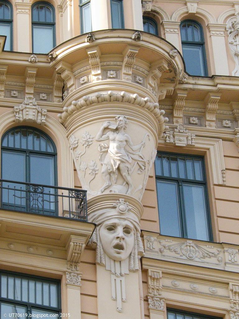 Jugendstilhaus Detail 3