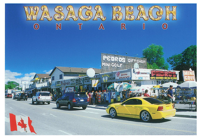 Ontario - Wasaga Beach - street