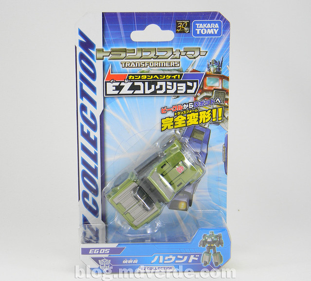 Transformers Hound EZ Collection - caja