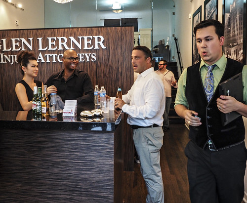 Grand Opening and Ribbon Cutting at Glen Lerner Injury Attorneys on the Sunset Strip