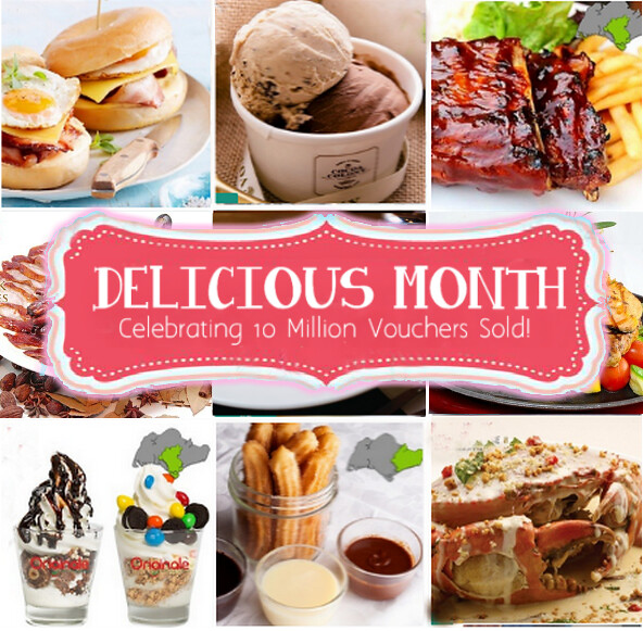 Groupon Delicious Month Collage
