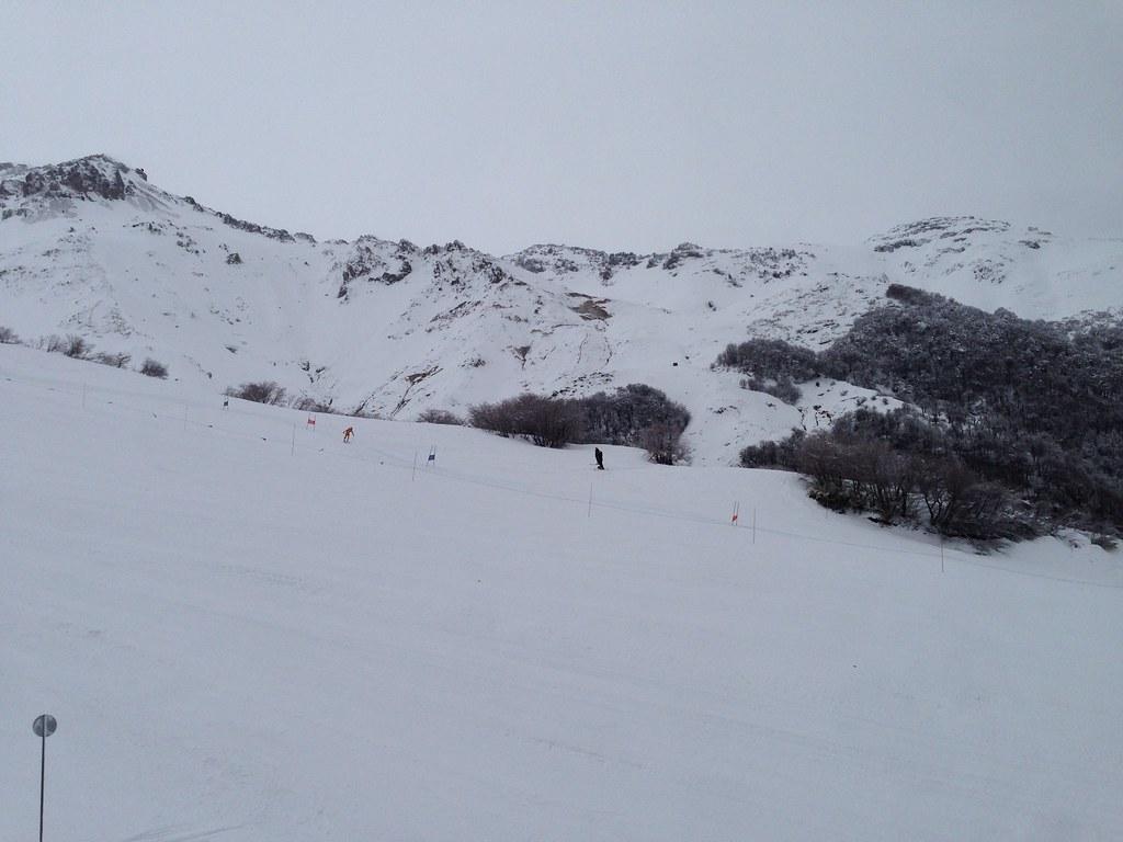 At Benno ski trail