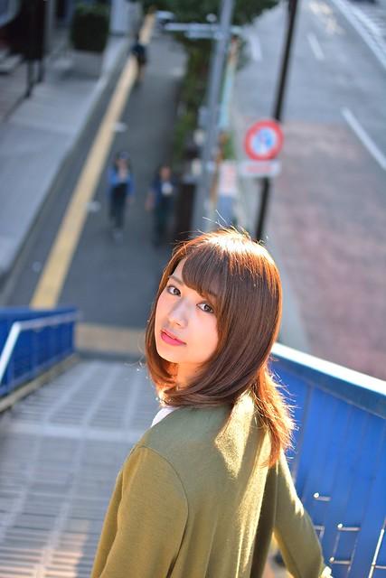 歩道橋_ポートレート