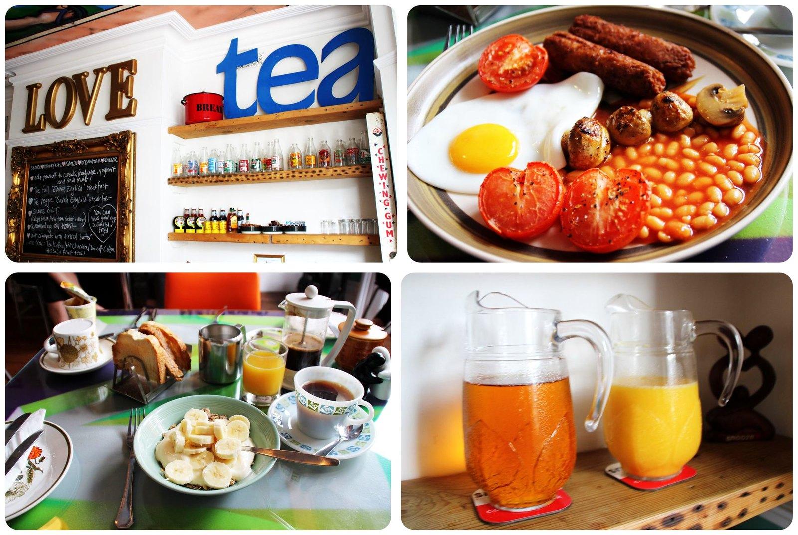 Brighton Snooze B&B breakfast