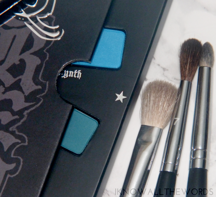 Kat Von D Mi Vida Loca Remix Eyeshadow Palette swatches review eye look (6)