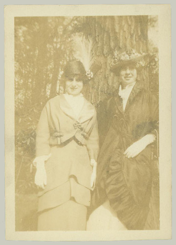 Two women and Hats