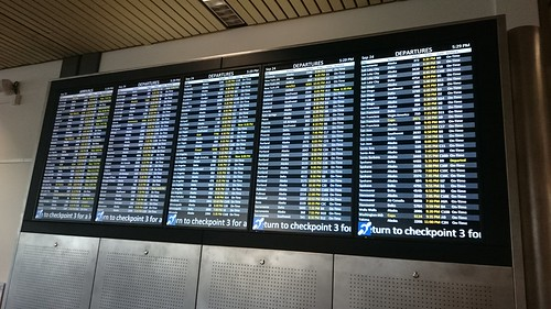 Departures at SEA