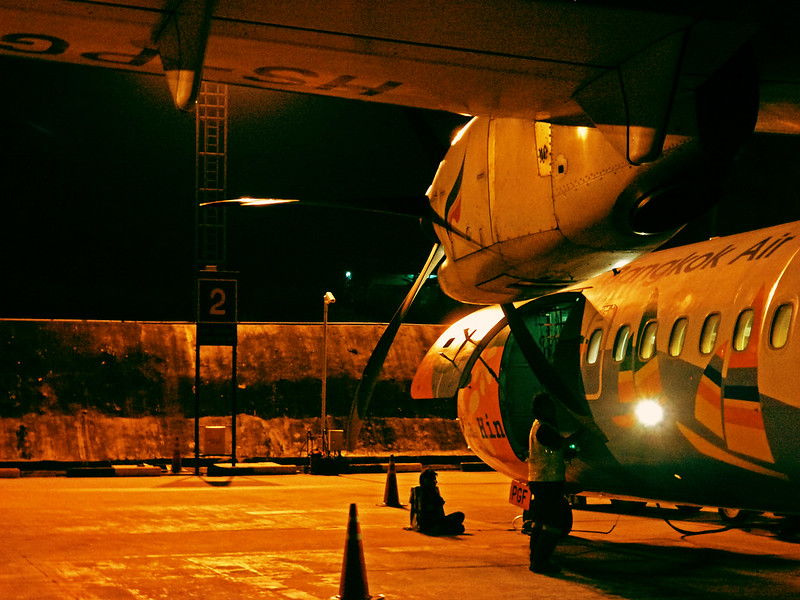 6 - Carnet de Thaïlande - 18 - Aéroport de Ko Samui