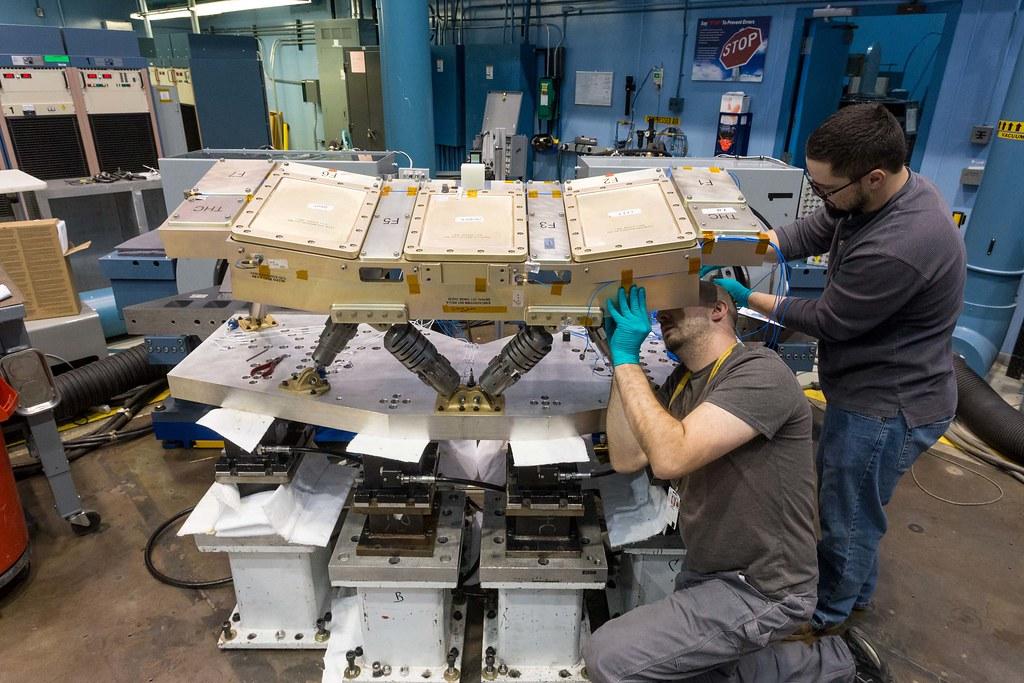 Orion Crew Console Vibration Test (4)