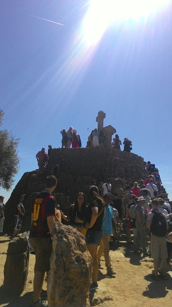 Park Güell - Collina delle Tre Croci