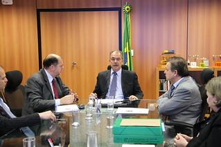 Audiência com Ministro da Educação, Aloizio Mercadante