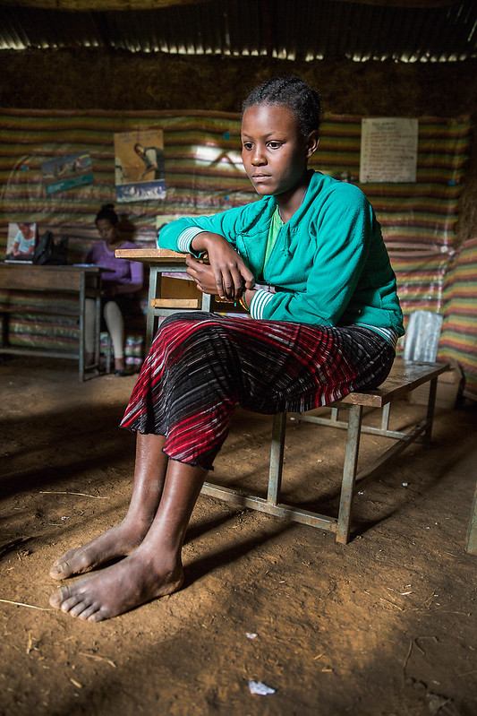 Lakech, 13 8th grade, wants to be a doctor when she grows up. Out of sheer poverty, her parents arranged her a marriage with a relatively wealthy family. Having heard of this arrangement, the community conversation groups approached her parents and