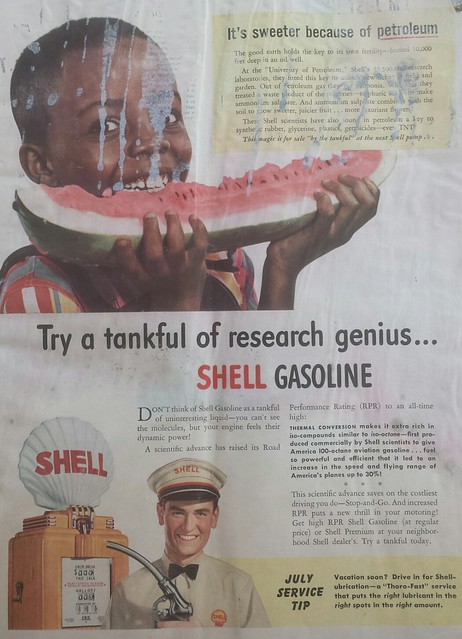 Shell Advertisement, Life Magazine, 1941