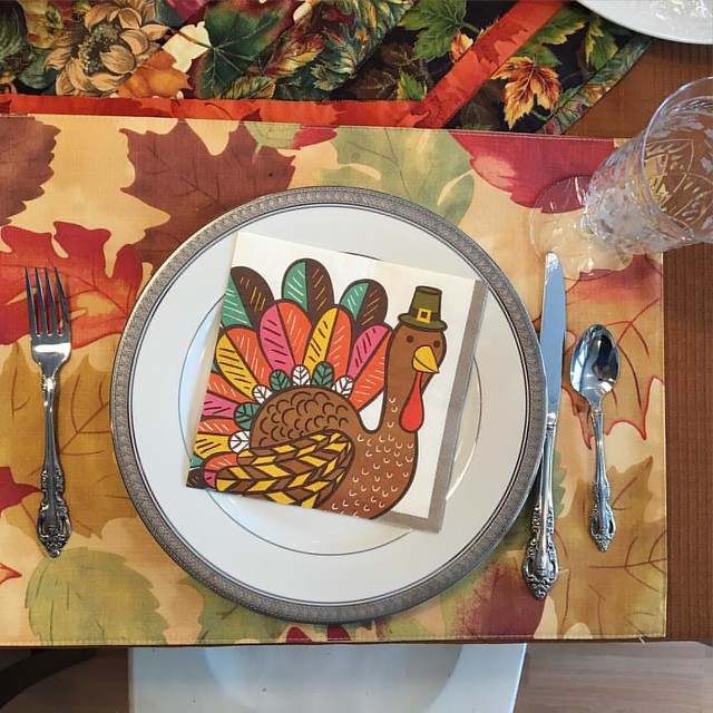 Gobble gobble! #happythanksgiving