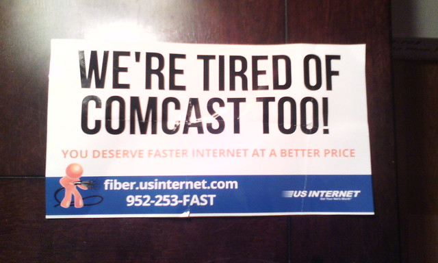 Comcast-bashing mail