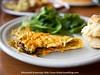 Cornbread Cafe Eggless Omelet