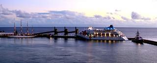 Bridgetown Harbour Panorama, Barbados. Nikon D3100. DSC_0287-0249.