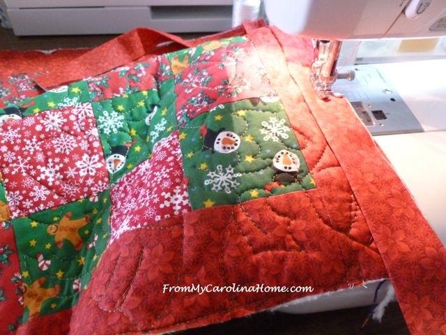 Quick Christmas squares 9