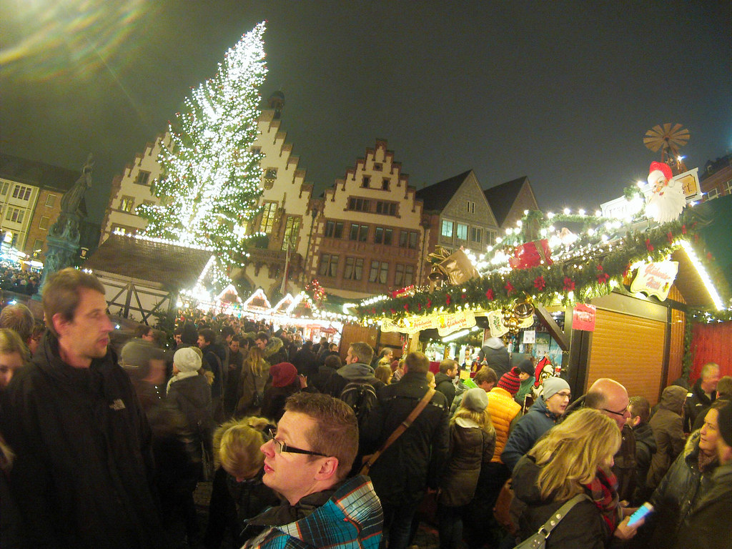 Frankfurt Christmas Market - Heart of Germany Christmas Market Cruise with Viking River Cruises, Dec. 2015