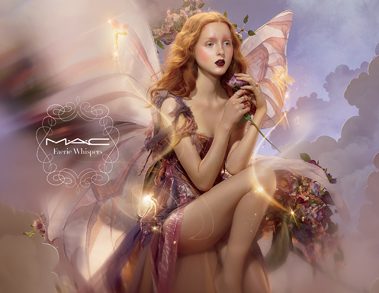 MAC Cosmetics Faerie Whispers Campaign Photo