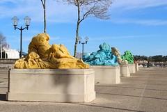 """Montpellier - """"Allégories"""""""