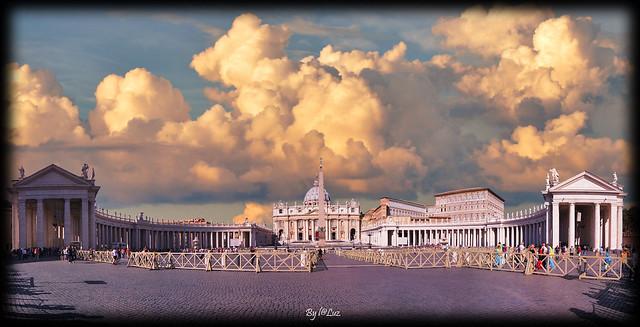 Evening at Vatican