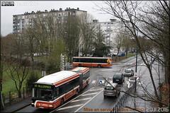 Irisbus Agora L GNV - Setram (Société d'Économie Mixte des TRansports en commun de l'Agglomération Mancelle) n°779 & Irisbus Citélis 12 - Setram (Société d'Économie Mixte des TRansports en commun de l'Agglomération Mancelle) n°143