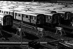 7 Trains in Corona Yard