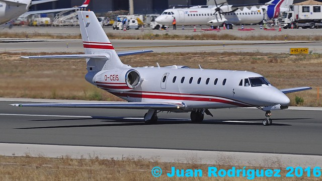 D-CEIS - Private - Cessna 680 Citation Sovereign - PMI/LEPA