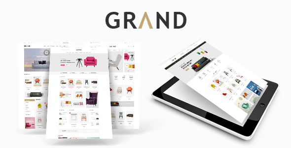 Grand v1.0 – Responsive Furniture Prestashop Theme