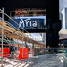 Building the New Aria Sign