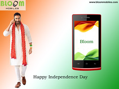 Happy Independence day bloom Mobile 13.8.2015