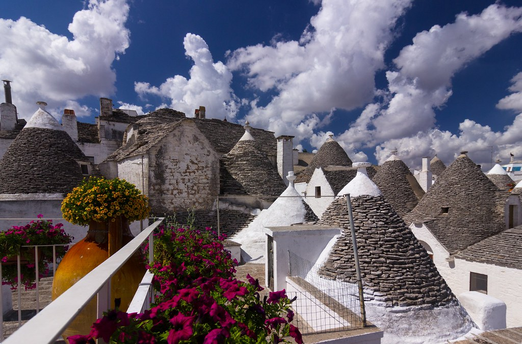 Trulli and clouds - Trulli e nuvole