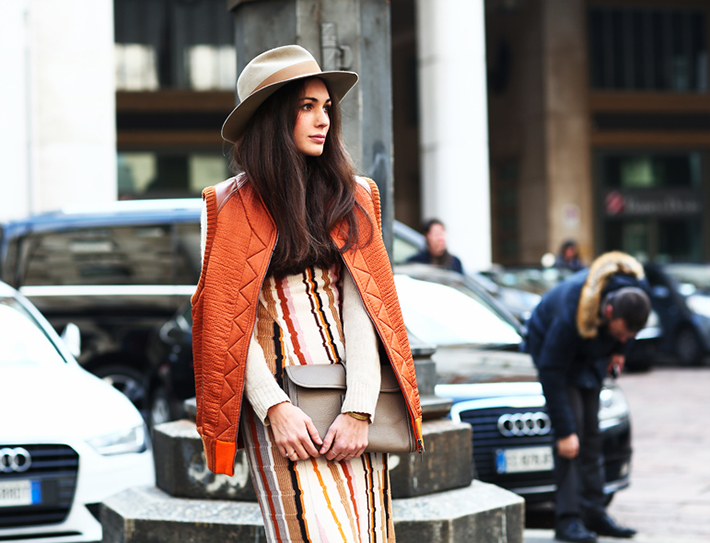 Seventies Inspiration Streetstyle Outfit Fashion 8