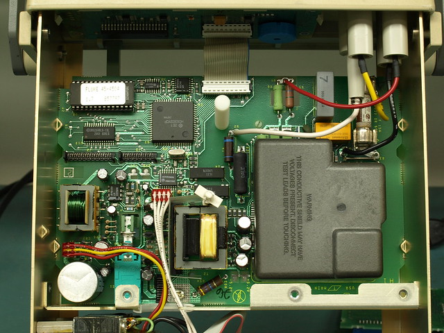 Fluke 45 Multimeter Teardown
