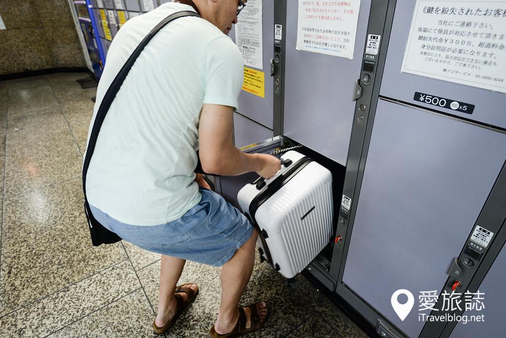 东京车站置物柜 05