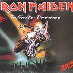 IRON MAIDEN Infinite Dreams Autographed Disc Poster Bag Maiden England