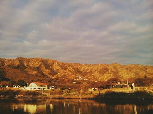 Atardecer de invierno en Bialet Massé