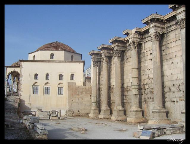 Grecia visita Atenas - Iglesia Saint Asomatos y Mezquita Tzisdarakis