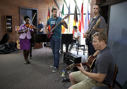 Faculty and staff band helps destress