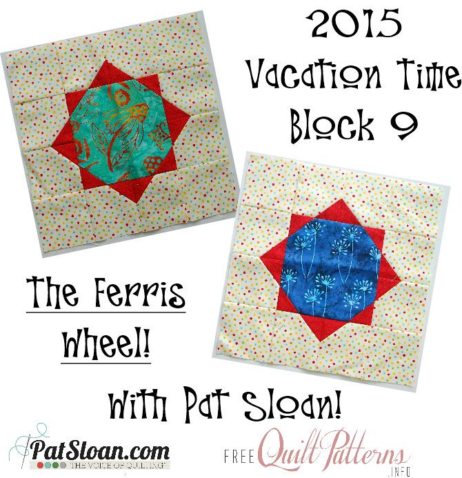 2015 block 9 Sept Vacation Time Button