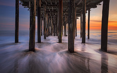 Beneath the Seacliff Pier