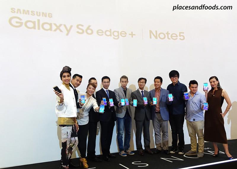 samsung note 5 ambassadors