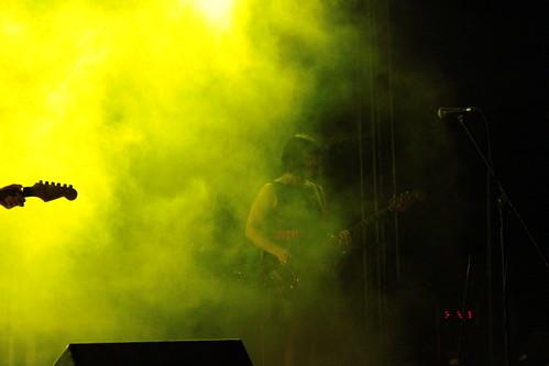 The Fireworks en concierto