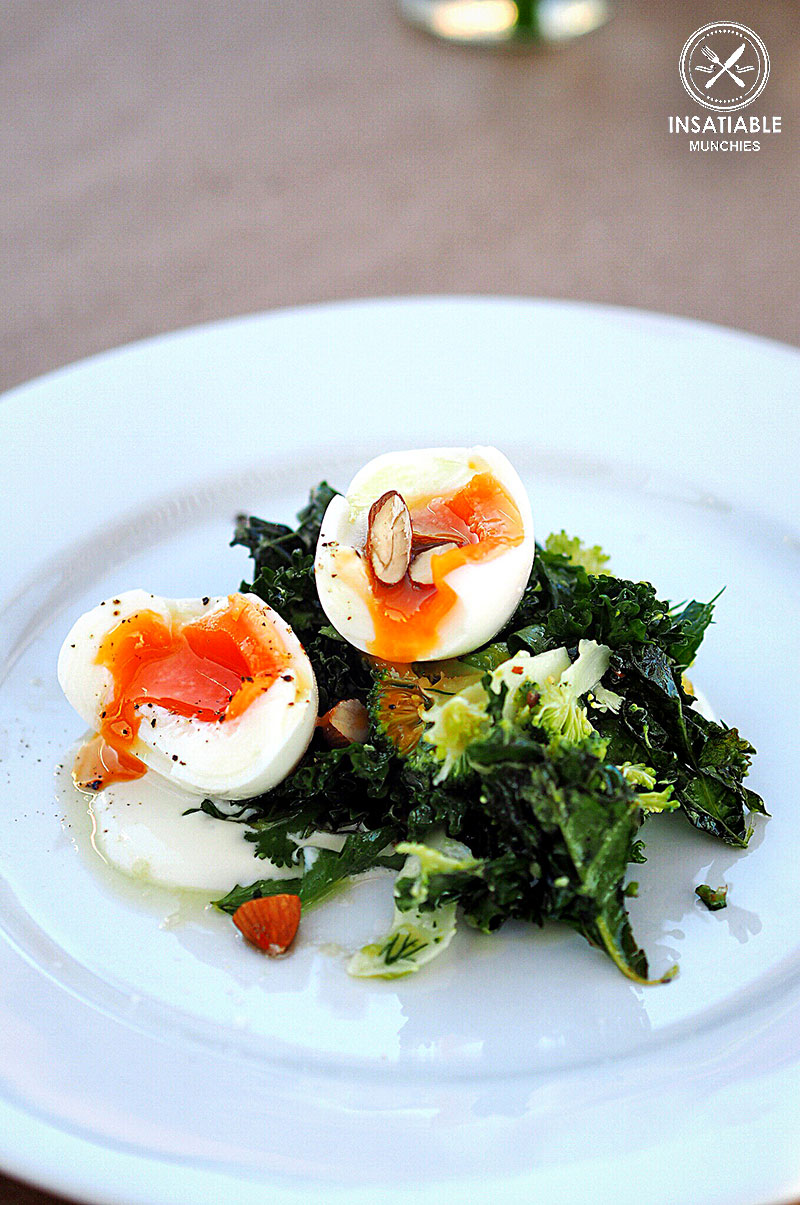Sydney Food Blog Review of Best of Brunch, Good Food Month 2015: Poached Eggs and Kale Salad, Ruby's Diner