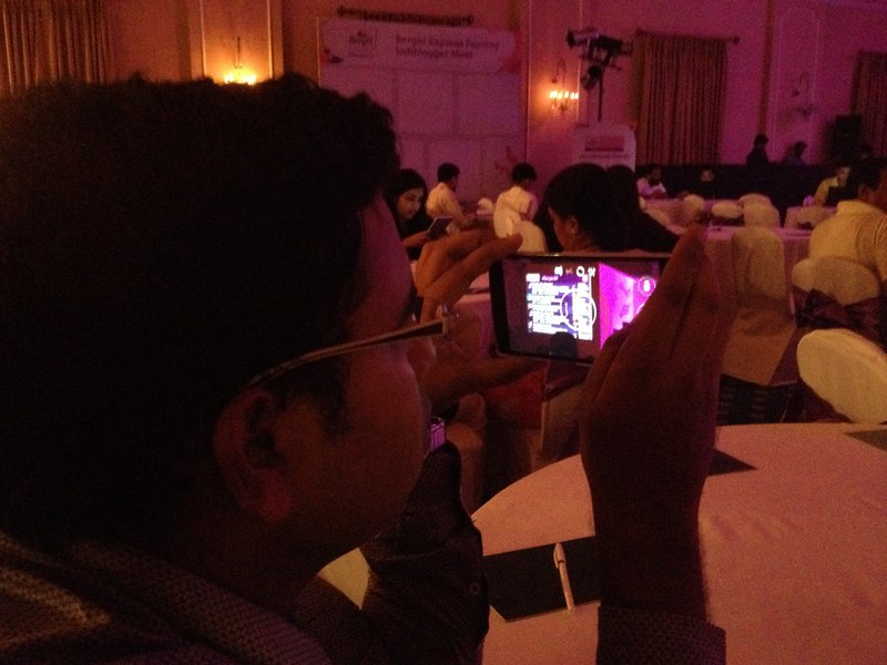 Blogger - Berger Express Painting IndiBlogger Meet 2015 at The Oberoi Grand, Kolkata
