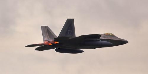 Lockheed Martin F-22 Raptor 05-4089