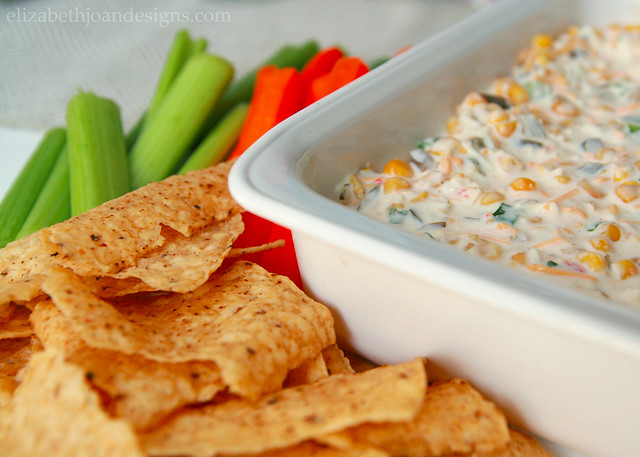 Creamy Jalapeno Corn Dip Chips
