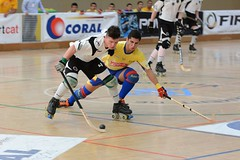 roller in-line hockey(0.0), indoor field hockey(0.0), ice hockey(0.0), floorball(0.0), stick and ball games(1.0), roller sport(1.0), floor hockey(1.0), sports(1.0), roller hockey(1.0), team sport(1.0), hockey(1.0), ball game(1.0),